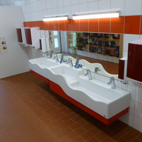 Waschraum im Ü3-Bereich