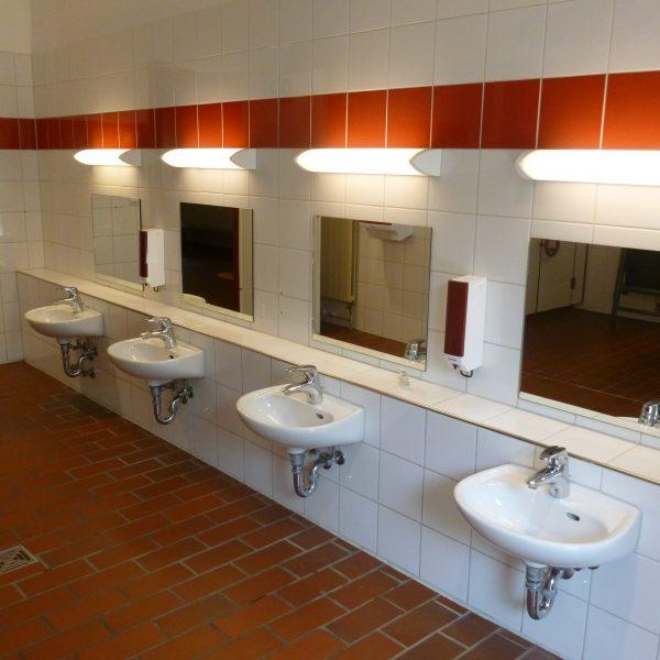 Waschraum im U3-Bereich